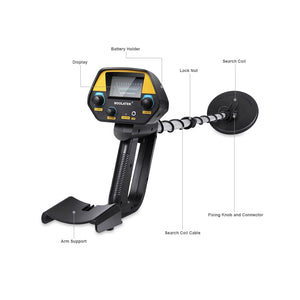 Underwater Gold Metal Detector Waterproof | Zincera