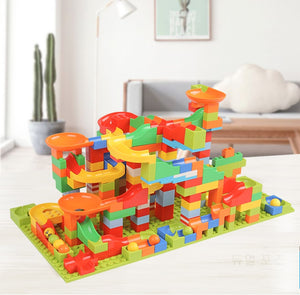 Marble Run Race Toy Track Set | Zincera