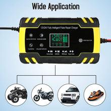Load image into Gallery viewer, 12V Portable Car Battery Charger Automatic | Zincera