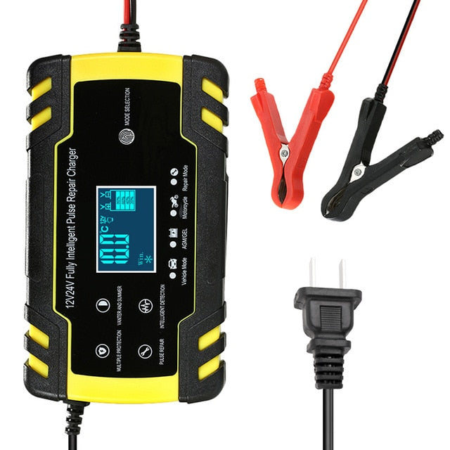 12V Portable Car Battery Charger Automatic | Zincera