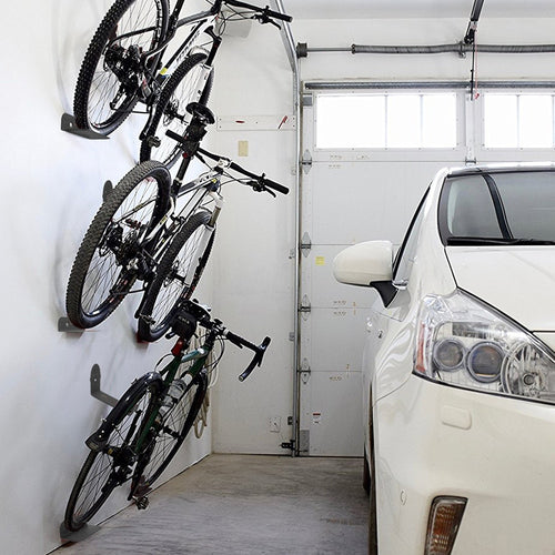 Premium Garage Bike Wall Mount Hook Hanger Rack | Zincera