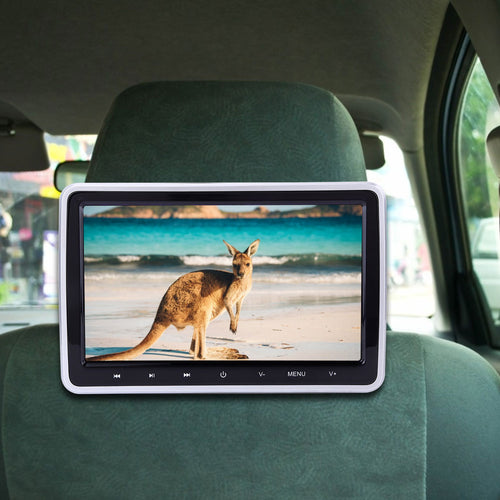 Car Headrest DVD Player Monitor TV System | Zincera