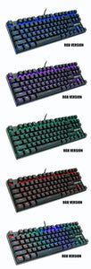 Rainbow RGB Mechanical Gaming Keyboard For PC | Zincera