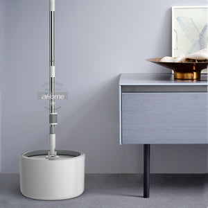 Hurricane Spin Mop And Bucket Automatic | Zincera