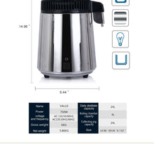 Load image into Gallery viewer, Home Water Distiller Countertop Machine | Zincera