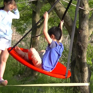 Heavy Duty Hanging Saucer Tree Swing Kit | Zincera