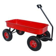 Load image into Gallery viewer, Heavy Duty Outdoor Foldable Kids Red Wagon | Zincera