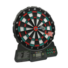 Load image into Gallery viewer, Premium Electronic Standing Soft Tip Dart Board | Zincera