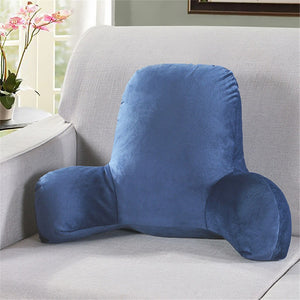 Premium Reading Bedrest Sit Up Pillow With Arms | Zincera