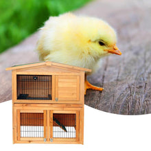Load image into Gallery viewer, Large Indoor Outdoor Rabbit Hutch Cage House 40in | Zincera