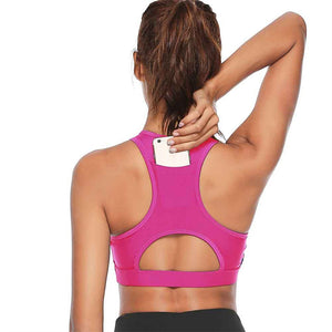 Womens' High Impact Padded Push Up Sports Bra | Zincera