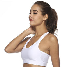 Load image into Gallery viewer, Womens' High Impact Padded Push Up Sports Bra | Zincera