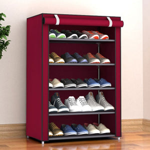 Spacious Shoe Storage Cabinet Organizer Cubby Stackable Rack | Zincera