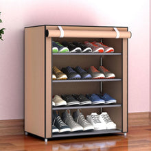 Load image into Gallery viewer, Spacious Shoe Storage Cabinet Organizer Cubby Stackable Rack | Zincera