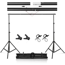 Load image into Gallery viewer, Heavy Duty Photo Backdrop Adjustable Stand Frame | Zincera