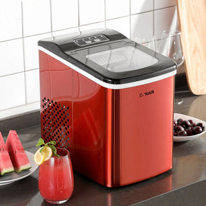 Premium Portable Countertop Sonic Ice Maker Machine | Zincera
