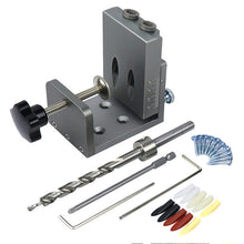 Load image into Gallery viewer, Pocket Hole Screw Joinery Drill Guide Kit | Zincera