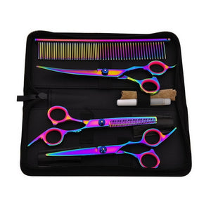 Premium Hair Cutting Scissors And Comb Set | Zincera
