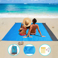 Load image into Gallery viewer, Large Sand Free Beach Blanket Mat | Zincera