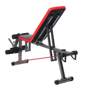 Adjustable Weight Lifting Dumbbell Workout Folding Bench | Zincera