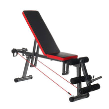 Load image into Gallery viewer, Adjustable Weight Lifting Dumbbell Workout Folding Bench | Zincera