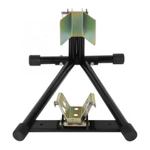 Load image into Gallery viewer, Heavy Duty Motorcycle Wheel Chock Stand | Zincera