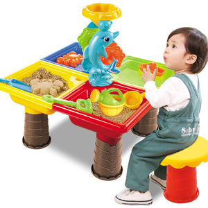Water And Sand Play Table For Kids | Zincera