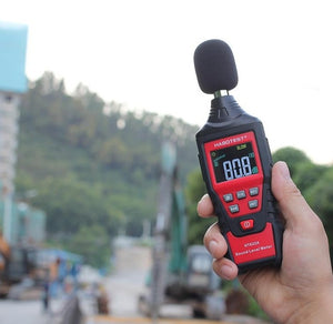 Premium Decibel Sound Level Noise Meter | Zincera