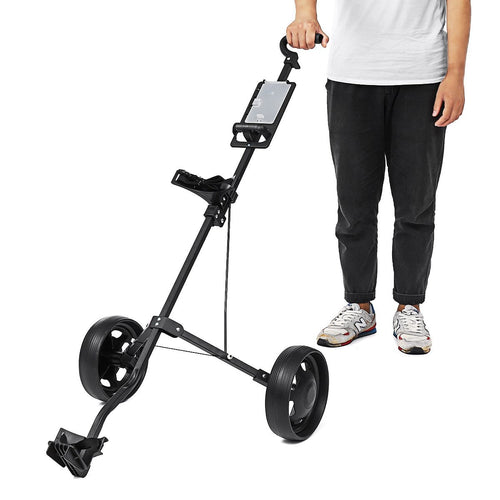 Golf Walking Wheeled Bag Push Cart | Zincera