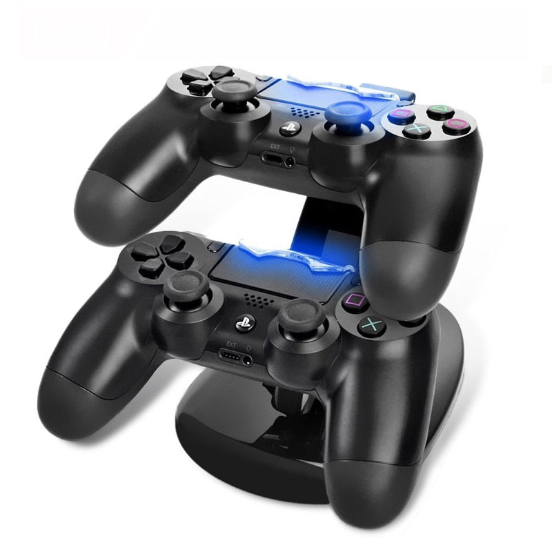 PS4 Dual Controller Charging Station Dock | Zincera