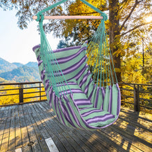 Load image into Gallery viewer, Premium Hanging Hammock Indoor Outdoor Ceiling Swing Chair | Zincera