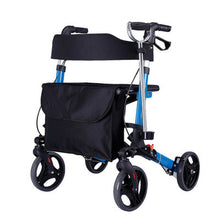 Load image into Gallery viewer, Heavy Duty Rolling 4 Wheeled Walker With Seat And Brakes | Zincera