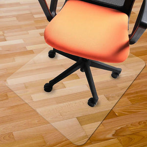 Transparent Office Rolling Computer Desk Chair Mat | Zincera