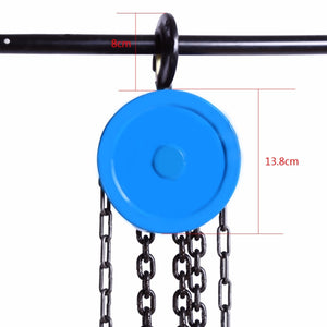 Rugged Manual Chain Lift Pulley Fall Hoist | Zincera