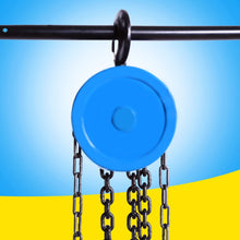 Load image into Gallery viewer, Rugged Manual Chain Lift Pulley Fall Hoist | Zincera