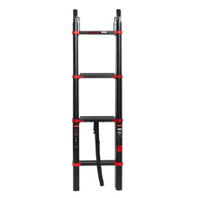 Load image into Gallery viewer, Heavy Duty Extendable Retracting Telescoping Aluminium Ladder | Zincera