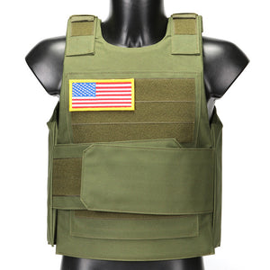Lightweight Tactical Load Bearing Plate Carrier Vest | Zincera