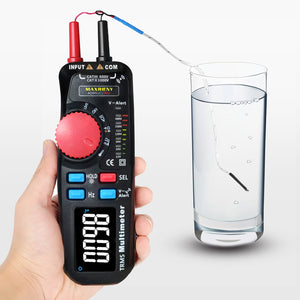 Professional Electrical Digital Voltage Tester Multimeter | Zincera