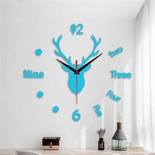 Load image into Gallery viewer, Large Modern Oversized Decorative Wall Clock