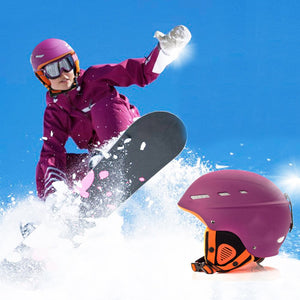 Heavy Duty Adjustable Men / Women Snowboard Helmet