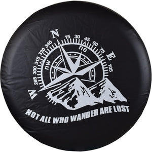 Premium Universal Heavy Duty Jeep Spare Tire Cover