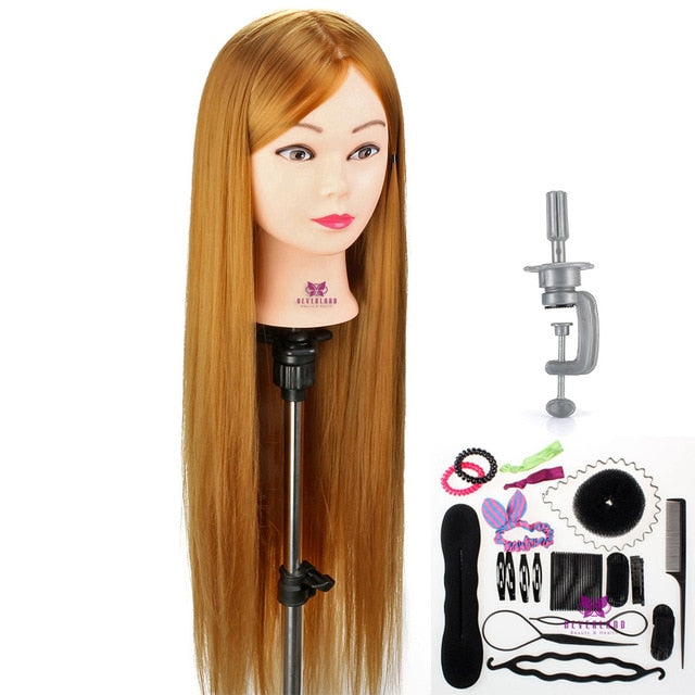 Ultimate Hair Styling Cosmetology Practice Mannequin Head With Hair