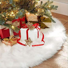 Load image into Gallery viewer, Premium Small White Christmas Tree Skirt