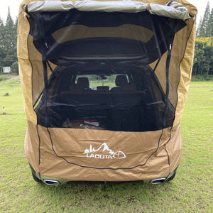 Heavy Duty Pop Up Car Camping Hatchback Tent
