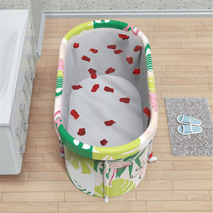 Spacious Portable Collapsing Adult Shower Bathtub