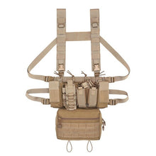 Load image into Gallery viewer, Heavy Duty Tactical Minimalist Molle Chest Rig