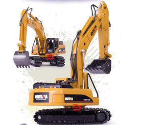 Kids RC Excavator Bulldozer Toy | Zincera