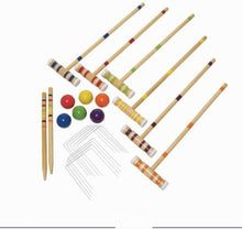 Load image into Gallery viewer, Premium Wooden Croquet 4 Players Game Set | Zincera