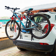 Load image into Gallery viewer, Premium Trunk Mounted Car Bike Holder Rack | Zincera