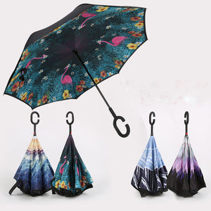 Upside Down Inverted Rain Umbrella | Zincera